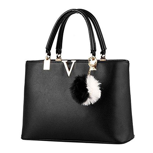 koson-man-damen-modische-sling-tote-taschen-top-griff-handtasche-schwarz-schwarz-kmukhb231