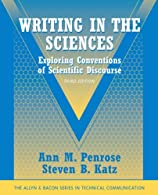 Writing in the Sciences: Exploring Conventions of Scientific Discourse