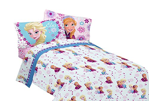 Buy Disney Frozen Warm Heart Microfiber Twin Sheet Set