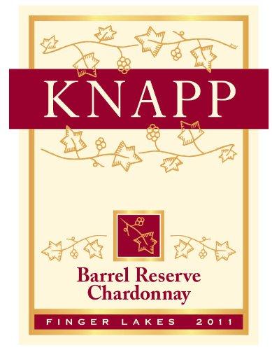 2013 Knapp Winery & Vineyard Finger Lakes Barrel Reserve Chardonnay 750 Ml