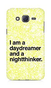 AMEZ daydreamer and night thinker Back Cover For Samsung Galaxy J5