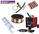 Sealey Mightymig150 150amp Gas/Gasless Mig Welder Kit