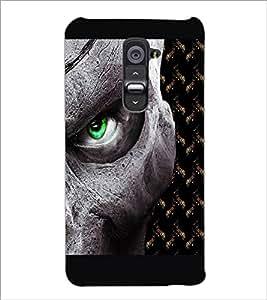 PrintDhaba Devil'a Eye D-2669 Back Case Cover for LG G2 (Multi-Coloured)