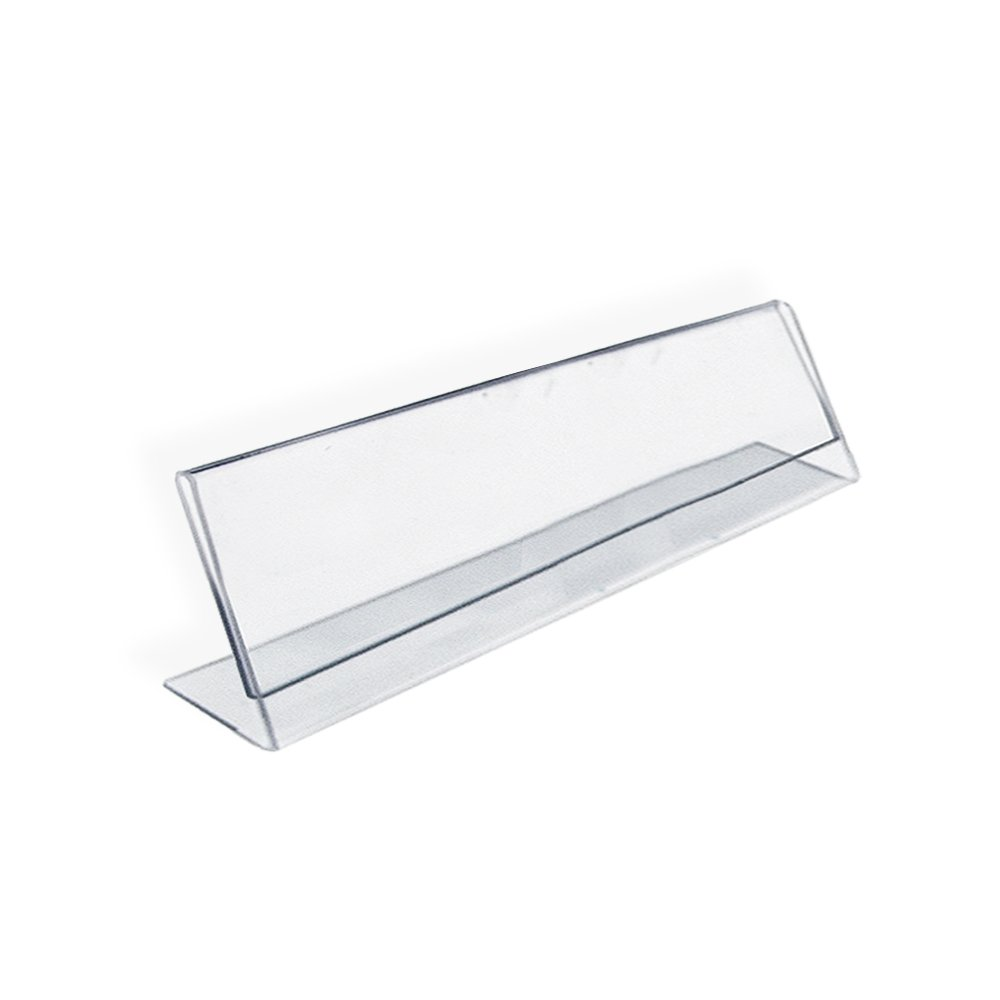 Azar 112703 Horizontal Name Plate Acrylic Sign Holder 10