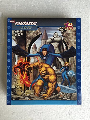 Fantastic Four 63pc. Puzzle-Heroes
