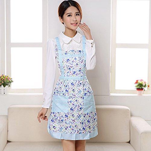 Woooow® Lovely woman fashion strap style kitchen apron ...
