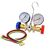 XtremepowerUS R12 R22 R134A R502 A/C Air Conditioning Ac Refrigerant Manifold-Gauge Set