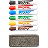 Expo Original Dry Erase Set, Chisel Tip, 7-Piece with Organizer, Assorted Colors