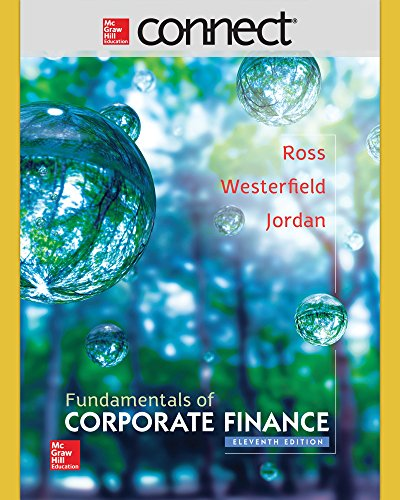 Connect 1 Semester Access Card for Fundamentals of Corporate Finance