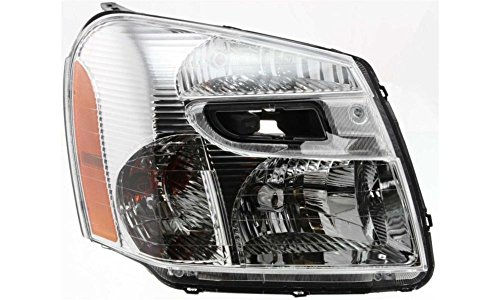 Evan-Fischer EVA13572020092 New Direct Fit Headlight Head Lamp for EQUINOX 05-09 RH Composite Assembly Halogen With Bulb(s) Passenger Side Replaces Partslink# GM2503254 (2005 Equinox Headlight Assembly compare prices)