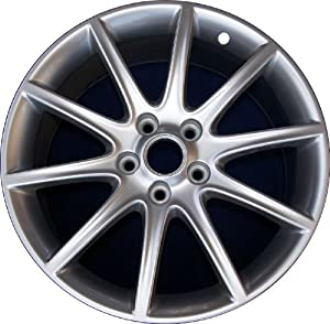 Genuine GM 19″ x 8.5″ OEM 06-09 XLR XLR-V Wheel Rim 10 Spoke Speedline Silver