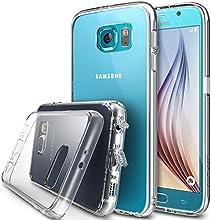 Galaxy S6 Funda - Ringke FUSION ***Todo Nuevo Polvo Tapa Libre & Caída Protección*** [Protector de Pantalla Gratuito][CRYSTAL VIEW] Prima Crystal Clear Back Absorción de Choque de Parachoques del Funda Duro con Protección de Pantalla HD Gratis para para Samsung Galaxy S6 - Eco/DIY Paquete