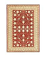 L'Eden del Tappeto Alfombra Anar Gul Rojo / Beige 212 x 292 cm