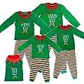 Elf Pyjamas Made By Elves Christmas Family PJs - Dad, Mum, Big, Little and Pet Elf