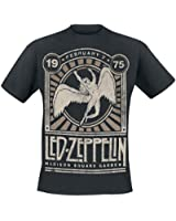 Led Zeppelin Madison Square Garden 1975 T-Shirt schwarz