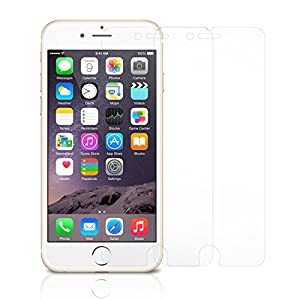 iPhone 6S Plus Screen Protector Glass (2-Pack), amFilm® [3D Touch Compatible] 0.3mm 2.5D Tempered Glass Screen Protector for Apple iPhone 6 Plus, iPhone 6S Plus 2015 [Lifetime Warranty] from amFilm