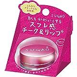 SUGAO スフレ感 チーク&リップ はなやかピンク 6.5g