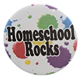 "Homeschool Rocks 1.25"" Magnet - Student Homeschooler"