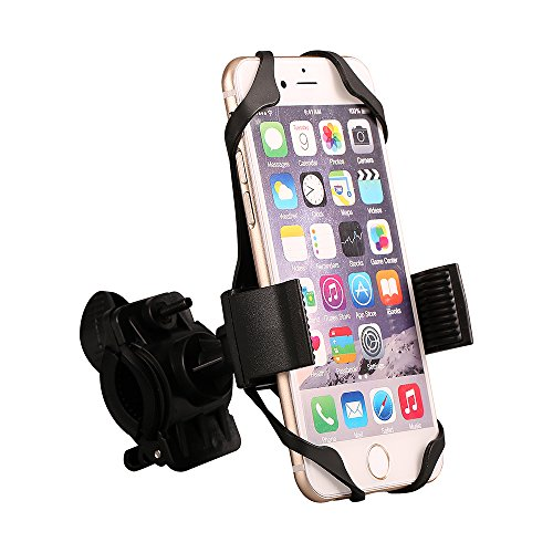 Discover Bargain Bike Phone Mount, Comsun® Universal Bike Phone Holder Cradle Bicycle Mount for Cel...