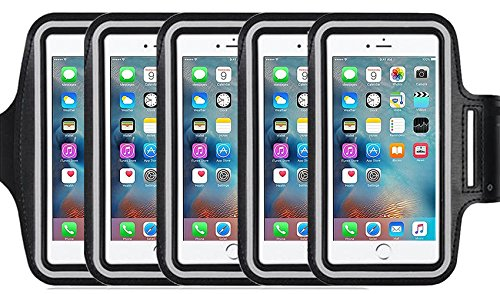 5Pack Armband for Apple iPhone 7,7 Plus,6 6s Plus, LG G5,Samsung Galaxy Note 5 4 3 Note Edge S4 S5 S6 LG G3 G4 G5 Note 4 5 7 Universal case,Great for Running,Exercise Gym Workout not for iphone 4 4s (Oven Rack 20 3 4 compare prices)
