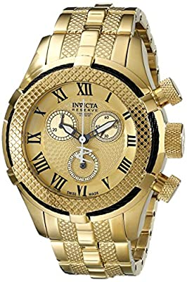 Invicta Women's 17157 Bolt Analog Display Swiss Quartz Gold Watch