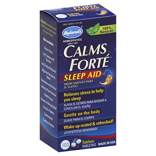 Hyland'S Calms Forte, Sleep Aid, Tablets, 100 Ct.