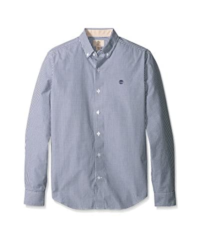 Timberland Men's Long Sleeve Rattle River Gingham Shirt