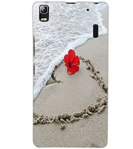 LENOVO A7000 PLUS SAND Back Cover by PRINTSWAG