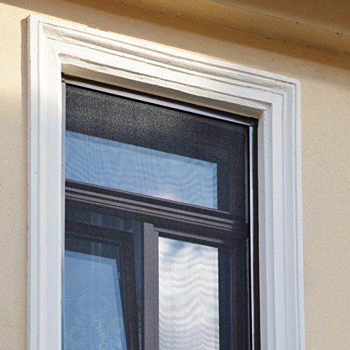 Zanzariera con telaio per finestra zanzariera di alta - Zanzariera finestra fai da te ...
