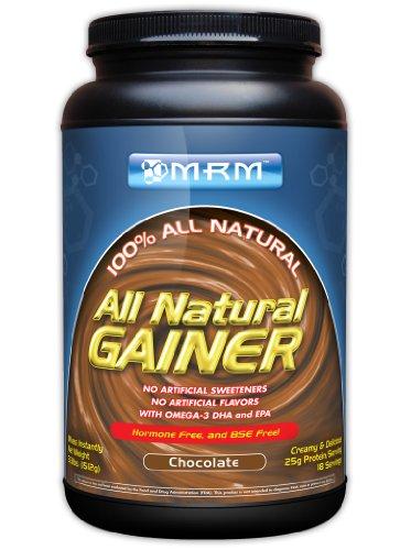 MRM ALL NATURAL GAINER CHOC 3.3LB Tub