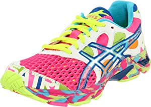 ASICS Women's Gel Noosa Tri 7 Running Shoe,Neon Pink/Coral/Noosa Glow,8.5 M US