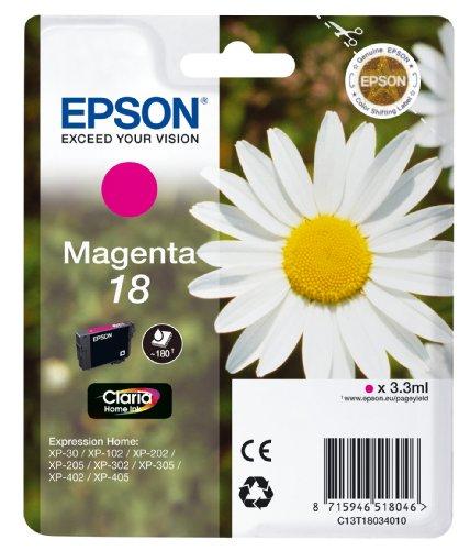 Epson T1803 Tintenpatrone Gänseblümchen, Singlepack, magenta