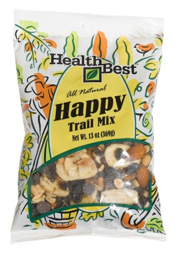 Buy Health Best Trail Mix Happy, 13 ounce Units (Pack of 4) (Health Best, Health & Personal Care, Products, Food & Snacks, Snacks Cookies & Candy, Snack Food, Trail Mix)