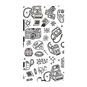 Garmor Designer Plastic Back Cover For Nokia Lumia 525