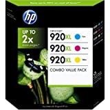51g7wxP3YeL. SL160 HP 920XL Color Officejet Ink Combo Pack