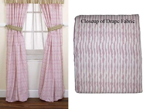 Jacana Drapes - 2 Panels with Tie Backs