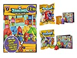 ZOMLINGS IN THE TOWN ~ SERIES 2 ~ 10 FIGURE PACKETS, 10 TOWER PACKETS, & STARTER PACK