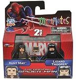 Minimates Marvel Comics Series 46: The Amazing Spider-Man Aunt May & Lizard Trooper 2 inch Mini Figure 2-Pack