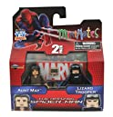 Minimates Marvel Comics Series 46: The Amazing Spider-Man Aunt May & Lizard Trooper 2 inch Mini Figure 2-Pack