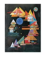 Artopweb Panel Decorativo Kandinsky Picchi In Arco 80x60 cm Multicolor