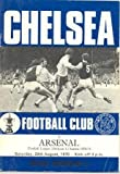 Chelsea v Arsenal official programme 29/08/1970