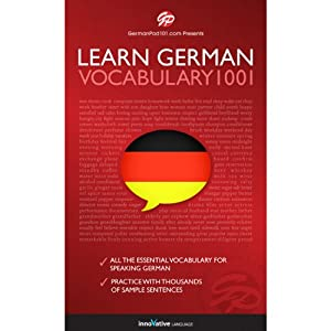 Learn German: Word Power 1001 Audiobook
