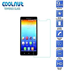 COOLNUT Tempered Glass Screen Protector Guard for Lenovo Vibe Z2