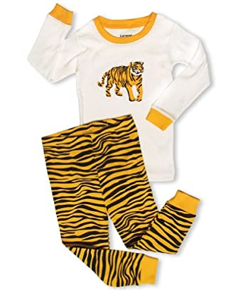 "Leveret ""Tiger"" 2 Piece Pajama 100% Cotton (12-18 Months)"