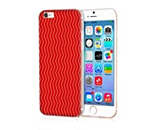 buy My Polaroid Iphone 6S Case Very Durable And Protective Hard Case For Iphone 6S (4.7) Apple Iphone 6S /6 (2015)(New)--Red Bottom And Yellow Waves