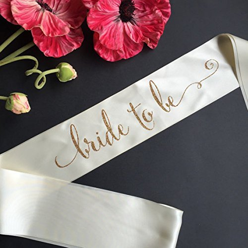 Bride to Be with Swirl Bachelorette Party Sash (Custom Bride To Be Sash compare prices)