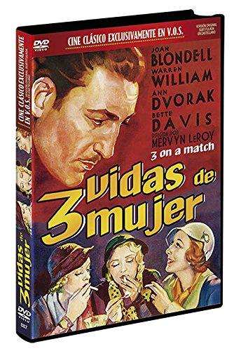 Tres Vidas de Mujer v.o.s. DVD 1933 Three on a Match (3 on a Match) [Edizione: Spagna]
