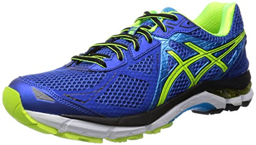 [ASICs, asics running shoes GT-2000 NEW YORK 3 TJG909 4207 (blue and safety yellow /25.5)