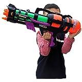 "Yosoo 23"" Light Weight Large Air Pressure Water Fun Super Blaster Soaker Water Pump Water Cannon Water Shooter Water Pistols Sports Pistol Gun Guns Sprayer with Handle (Random Color)"