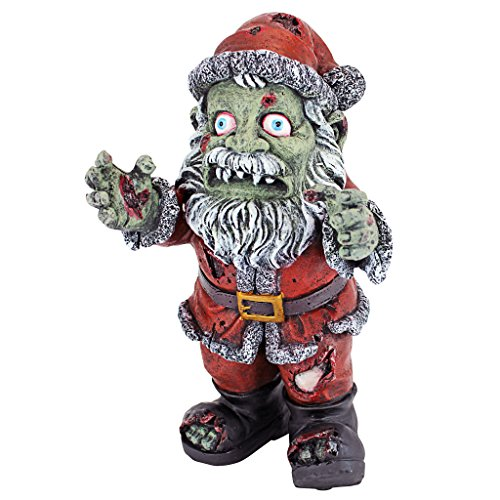 Design Toscano Zombie Claus Holiday Statue